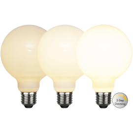 LED-Lampe E27 Ø95 Dim 3-step lm800/60w Frostet Ra90 , hemmetshjarta.no