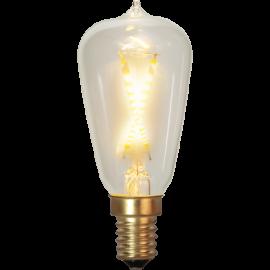 LED-Lampe E14 Soft Glow ST38 , hemmetshjarta.no