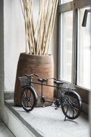 Dekorasjon Tandem sykkel industri , hemmetshjarta.no