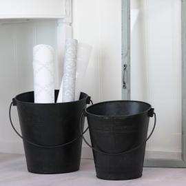 Bøtter 2-pakning - matt svart , hemmetshjarta.no