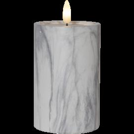 LED Blokklys Flame Marble 15 cm , hemmetshjarta.no