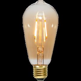 LED-Lampe E27 Plain Amber ST64 , hemmetshjarta.no