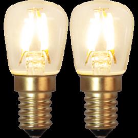 LED-Lampe E14 Soft Glow 2-pack , hemmetshjarta.no