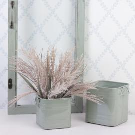 Plant Kvadrat 2-pack 12/10 - grønn , hemmetshjarta.no