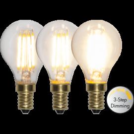 LED-Lampe E14 Soft Glow P45 Dim 3-step , hemmetshjarta.no