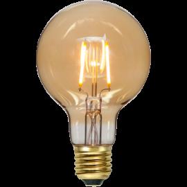 LED-Lampe E27 Plain Amber G80 , hemmetshjarta.no