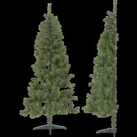 Juletre Halve Utendørs 85/50x 180cm , hemmetshjarta.no