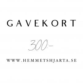 Gavekort - 300:- nok , hemmetshjarta.no