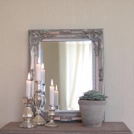 Speil Antik 53x42 cm - Antikksølv , hemmetshjarta.no