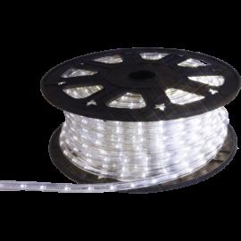 XX Lysslange Ropelight Flex LED Reel Utendørs Kald Hvit 1620 lys 4500cm , hemmetshjarta.no