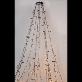 Julgransslynga Utendørs EL Ekstra Varmhvit 360 Lys 200cm , hemmetshjarta.no