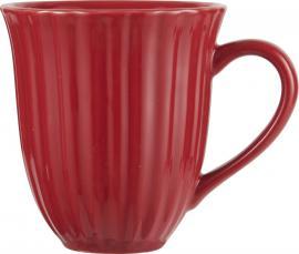 Mynte Strawberry kopp m/riller , hemmetshjarta.no