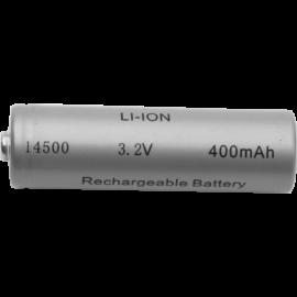 Oppladbart batteri 14500 3,2V 400 mAh Li-Ion , hemmetshjarta.no