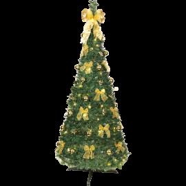 XX Juletre med LED Pop-up-tree EL Varm Hvit 144 Lys 85x185cm , hemmetshjarta.no