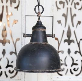 Lampe Industri H26 / Ø24 cm antikk svart , hemmetshjarta.no