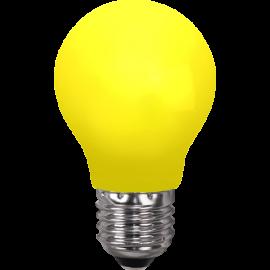 LED-Lampe E27 Outdoor Lighting A55 Gul , hemmetshjarta.no