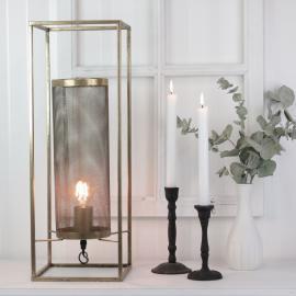 Lampe Industri 56 cm - antikkgull , hemmetshjarta.no