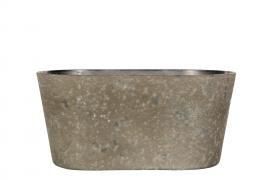Hardplast Mud Krukke/Ovali 24x10x11cm , hemmetshjarta.no