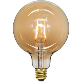 LED-Lampe E27 Plain Amber G125 , hemmetshjarta.no