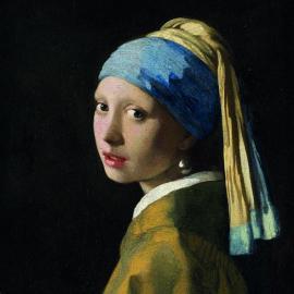 Serviett Lunsj 33x33 Girl With The Pearl Earring , hemmetshjarta.no