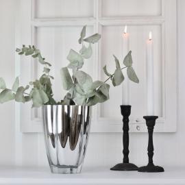 Vase Lyx 20 cm - sølv , hemmetshjarta.no
