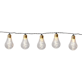 Lyslenke EL Glow Gul 10 Lys 360cm , hemmetshjarta.no