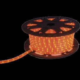 Lysslange Ropelight Micro Reel Utendørs Orange 1620 lys 4500cm , hemmetshjarta.no