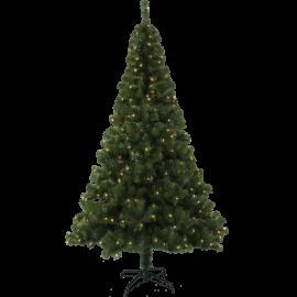 XX Juletre med LED Ottawa EL Utendørs Varm Hvit 260 Lys 120x210cm , hemmetshjarta.no