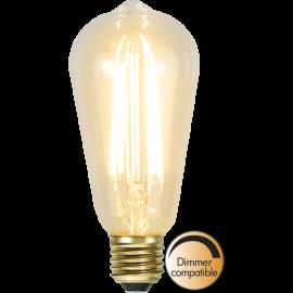 LED-Lampe E27 Soft Glow ST64 Dim , hemmetshjarta.no