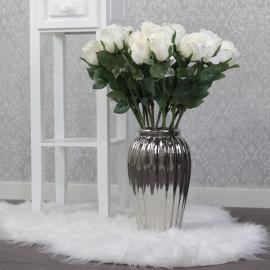 Vase Lyx 27,5 cm - sølv , hemmetshjarta.no