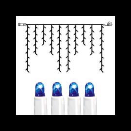 Utendørsdekorasjon System LED EL Istapp lenke Extra Blå 100 lys 200x100cm , hemmetshjarta.no