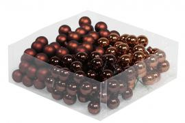 Glasskule.Bas Choklad Mix 2cm 144stk , hemmetshjarta.no
