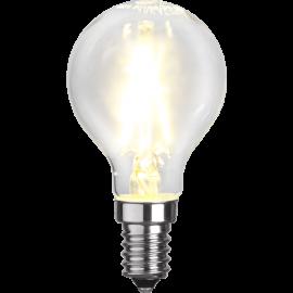 LED-Lampe E14 Ø45 lm150/16w Clear , hemmetshjarta.no