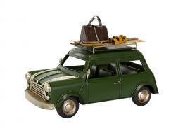 Dekorasjon Bil Mini Cooper Metal 25x12,5x17cm , hemmetshjarta.no