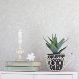 Kopp til blomsterkrukke/plantering - antikkhvit , hemmetshjarta.no