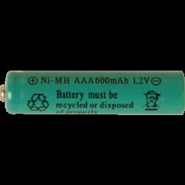 Oppladbart batteri AAA 1.2V 600mAh NI-MH 2-pack , hemmetshjarta.no