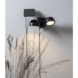 Solcelle spotlight Powerspot , hemmetshjarta.no