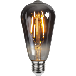 LED-Lampe E27 Plain Smoke ST64 , hemmetshjarta.no