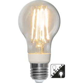 LED-Lampe E27 Sensor Ø60 lm1050/75w Clear , hemmetshjarta.no