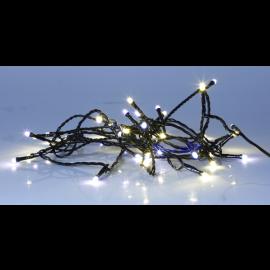 Lyslenke Utendørs EL Serie LED Varmhvit och Kaldhvit 40 Lys 400cm , hemmetshjarta.no