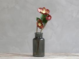 Fleur Julrose H39 / L11 / B9 cm gl. rosa , hemmetshjarta.no