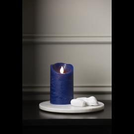 Batteridrevet Blokklys LED M-Twinkle Blå 7,5x12,5cm , hemmetshjarta.no
