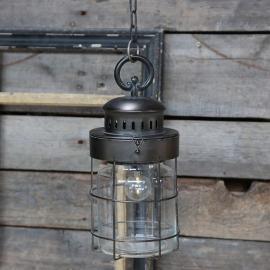 Batteridrevet fransk stabil lampe hengende , hemmetshjarta.no