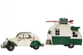 Dekorasjon bil og campingvogn Citroen Metall 41x9,5x15,5cm , hemmetshjarta.no