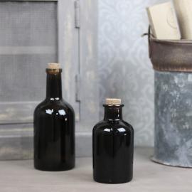 Glassflaske Mørk brun 250ml 7,2x12cm , hemmetshjarta.no