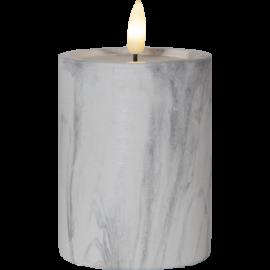 LED Blokklys Flame Marble 12,5 cm , hemmetshjarta.no
