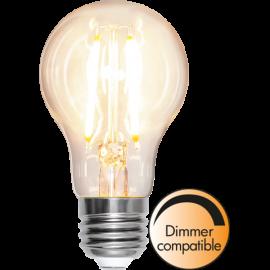 LED-Lampe E27 Ø60 Dim lm810/60w Clear , hemmetshjarta.no