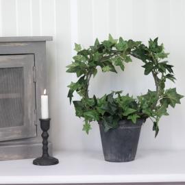 Kunstig Eføy Plante på bue 35 cm , hemmetshjarta.no