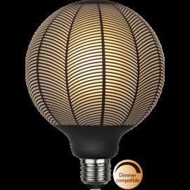 LED-Lampe E27 Graphic G125 Dim , hemmetshjarta.no