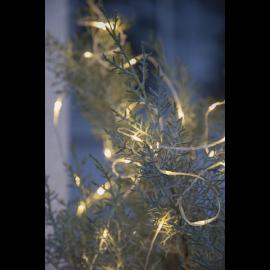 Lyslenke Dew Drop Utendørs EL Varmhvit 100 lys 1000cm , hemmetshjarta.no